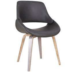 !nspire Serano chaise d'appoint, charbon
