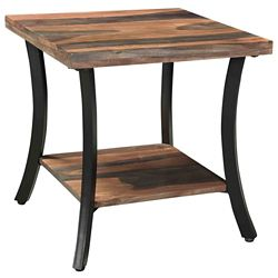 !nspire Surin Solid wood/Iron Accent Table