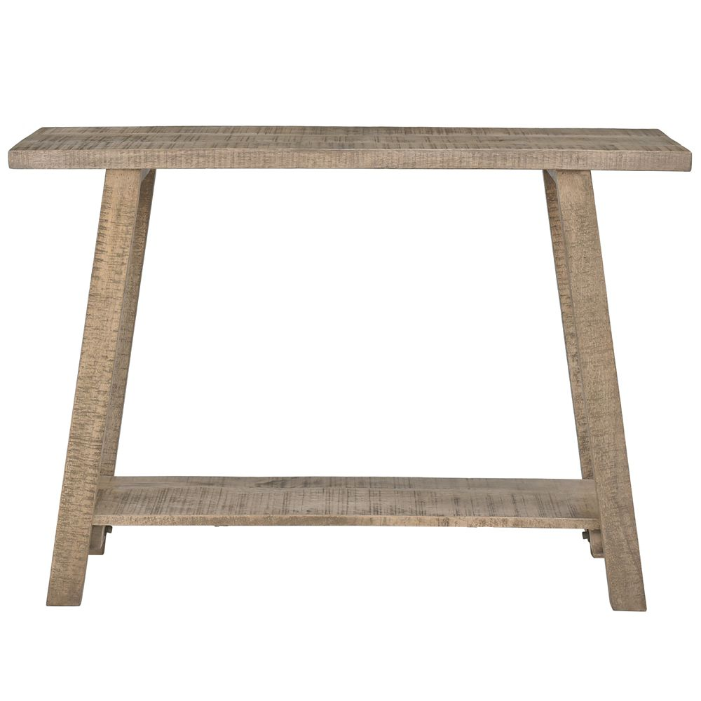 Volsa Solid Wood console Table, Reclaimed