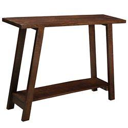 !nspire Volsa Solid Wood console Table, Walnut