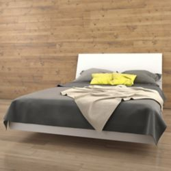 058423b5722 South Shore Step One Queen Platform Bed (60 Inch)