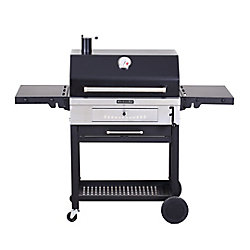 KitchenAid Heavy Duty Charcoal BBQ in Black