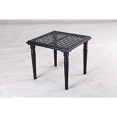 Laurel Oaks Steel 20 inch Accent Table