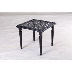 Hampton Bay 20-inch Laurel Oaks Outdoor Patio Accent Table
