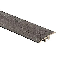 Moulure en T en vinyle de 5/16 po d'épaisseur x 1 3/4 po de largeur x 72 po de longueur, Chêne Quincy