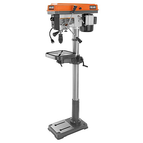 RIDGID 15-Inch Drill Press with LED