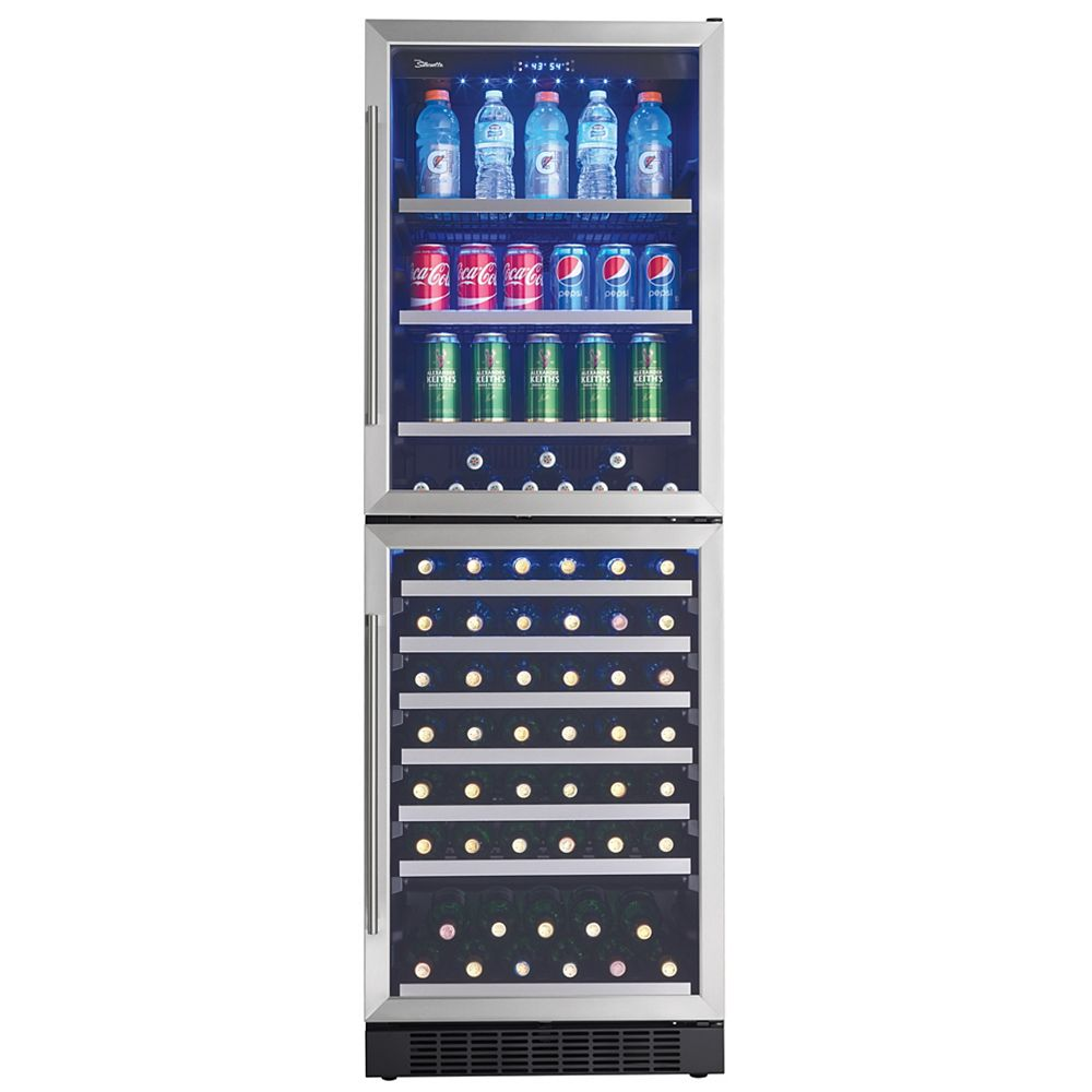 Silhouette 14 cu. ft. Dual Zone Wine and Beverage Centre