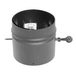 SuperVent 6 inch Dia Damper Kit