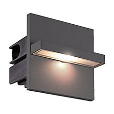 Perma LED Outdoor InWall, Graphite Grey Finish