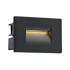 Outdoor InWall LED, Graphite Grey, 3.6W