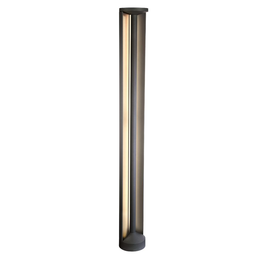 Eurofase Outdoor Bollard LED, Graphite Grey, 30W