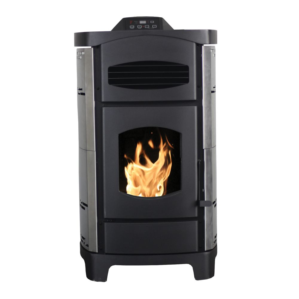 Astonishing Wood Stoves Pellet Stoves Electric Stoves The Home Depot Home Interior And Landscaping Eliaenasavecom