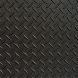 RoughTex Trousse de couvre-sol nervuré noir pour garage simple, comprend 2 couvre-sol 5 pi x 24 pi