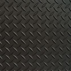 RoughTex (2) 7.5 ft. x 24 ft. and (1) 5 ft. x 24 ft. Black Textured Diamond Deck, 2 Car Garage Kit