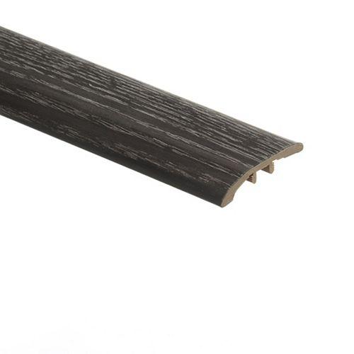 Zamma Brooks Range Oak 5/16-inch Thick x 1 3/4-inch Wide x 72-inch Length Vinyl Reducer Molding