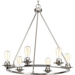 Progress Lighting Debut Six-light Chandelier