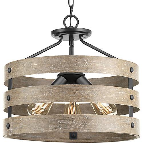 Semi-encastré transformable Gulliver à trois lumières