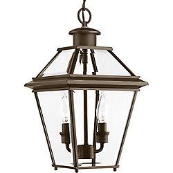 Progress Lighting Lanterne suspendue Burlington à deux lumières