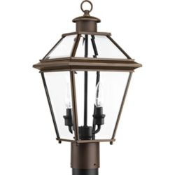 Progress Lighting Burlington Two-light Post Lantern