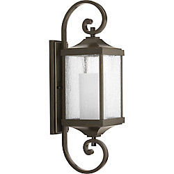 Progress Lighting Devereux One-light Medium Wall Lantern 7 inch