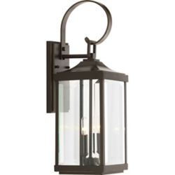 Progress Lighting Gibbes Street Two-light/ Med Wall Lanteern 7 inch