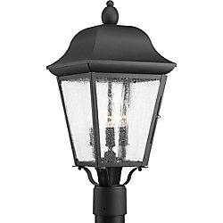 Progress Lighting Lanterne sur poteau Kiawah à trois lumières