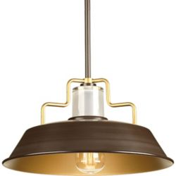 Progress Lighting Archives One-light Small Pendant 14 inch