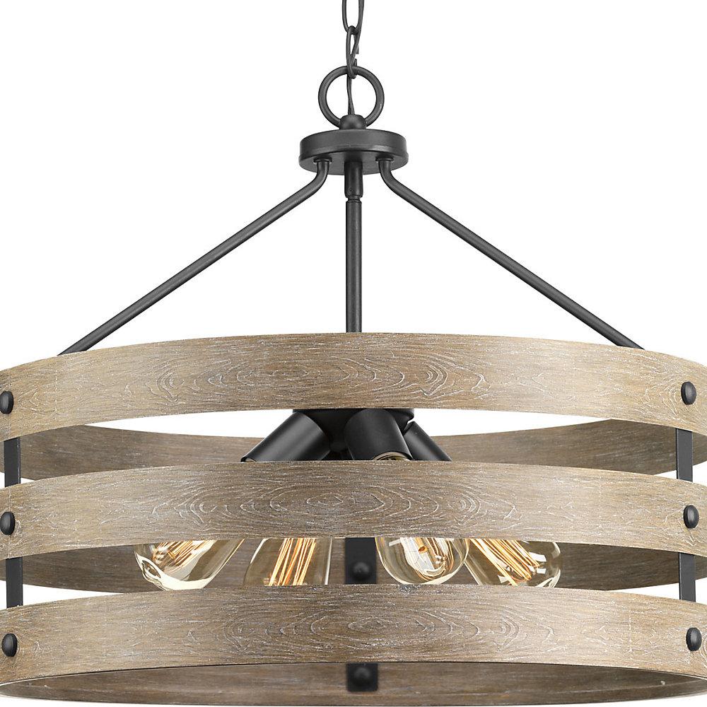 progress lighting gulliver 4-light pendant light fixture
