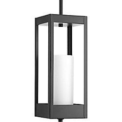 Progress Lighting Luminaire suspendu à 1 lumière, collection Patewood - noir