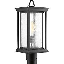 Progress Lighting Lampe sur poteau extérieure, collection Endicott - noir