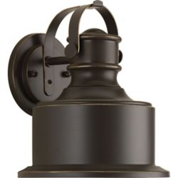 Progress Lighting Callahan Collection 1-Light Antique Bronze Wall Lantern