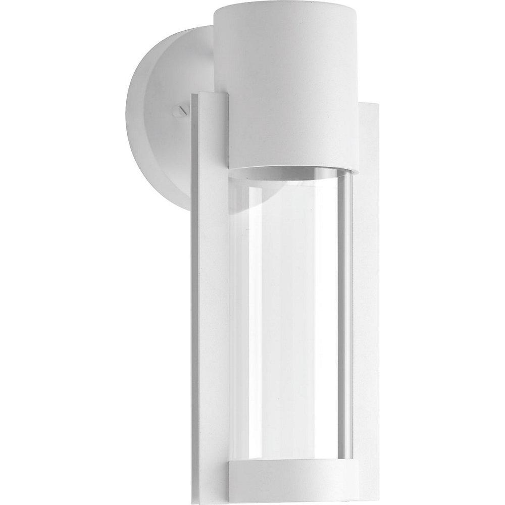 Z-1030 Collection 1-Light White Wall Lantern