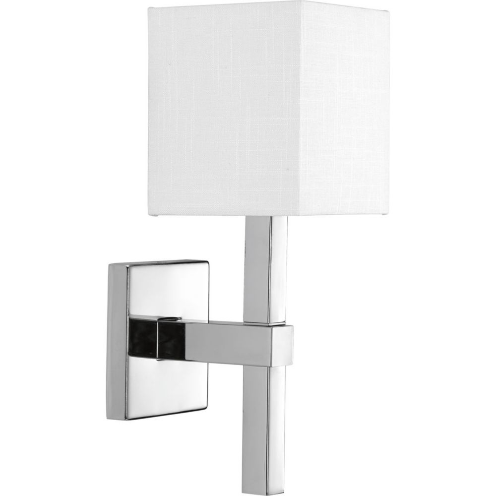 Progress Lighting Metro Collection 1-Light Polished Chrome Sconce