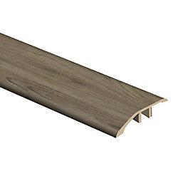 Moulure de réduction en vinyle, 5/16 po d'épaisseur x 1 3/4 po de largeur x 72 po de longueur, Cayman Ash