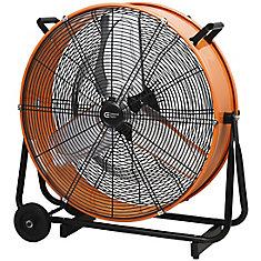 24-inch 2-Speed Drum Fan