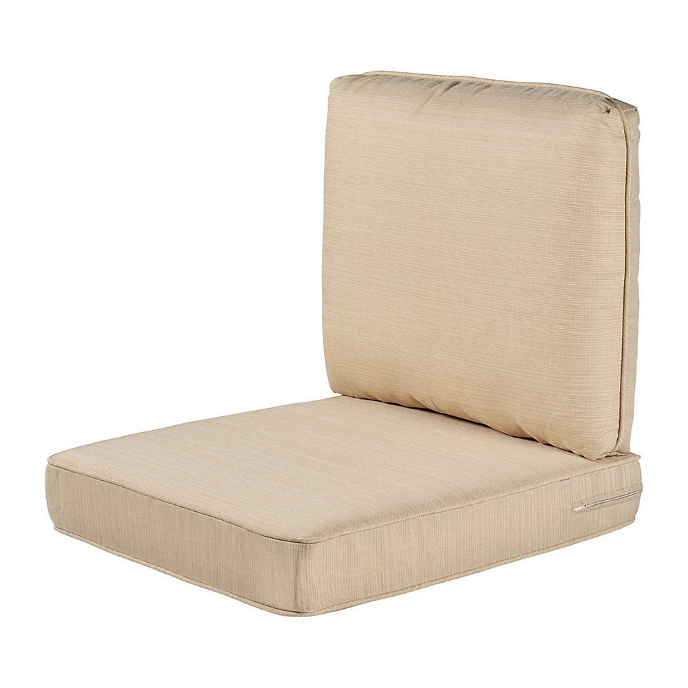 Hampton Bay Spring Haven Beige Replacement 2 Piece Outdoor