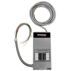Generac 10-circuit 50 Amp Load Center ATS - NEMA 1 CUL
