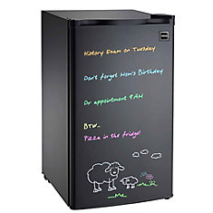 3.2 cu. ft. Dry Eraser Board Mini Refrigerator with Neon Markers