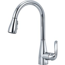 Delta Grenville Single Handle Pull-Down Kitchen Faucet in Chrome
