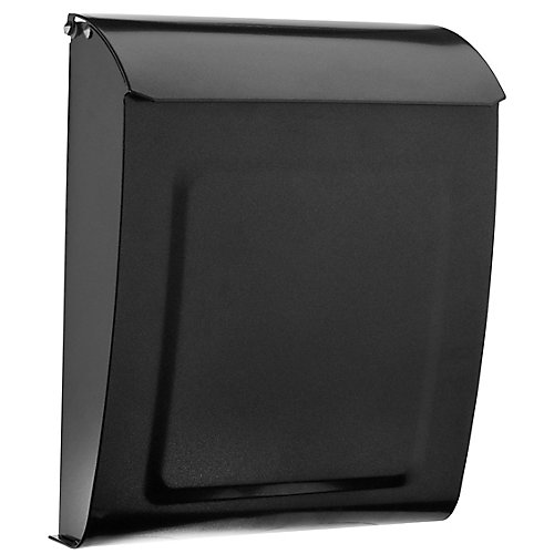 Aspen Locking Wall Mount Mailbox Pewter