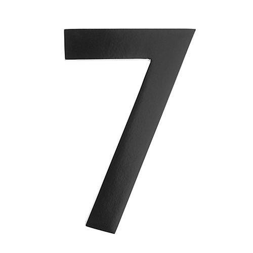 "Address Number 5 inch. Brass Black ""7"""