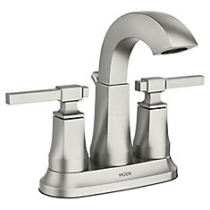 Ayda 4-Inch Centerset 2-Handle Bathroom Faucet in Spot Resist Nickel