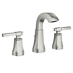 Ayda 8-Inch Widespread 2-Handle Bathroom Faucet in Spot Resist Brushed Nickel