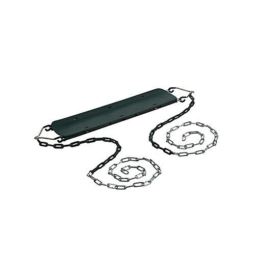 Siège de balançoire pour débutant- Vert