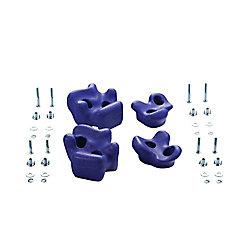 Creative Cedar Designs Prises d'escalade (ensemble de4)- Violet