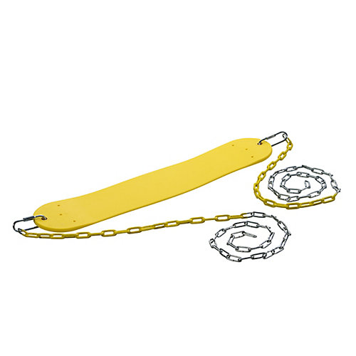 Standard Swing Seat w/ Chains- Yellow