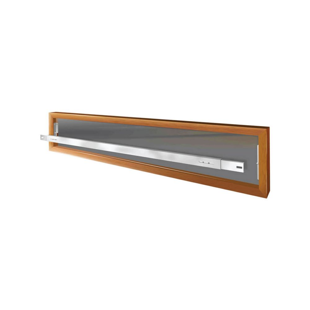 Mr. Goodbar 103 A 62-inch to 74-inch W Removable Window Bar