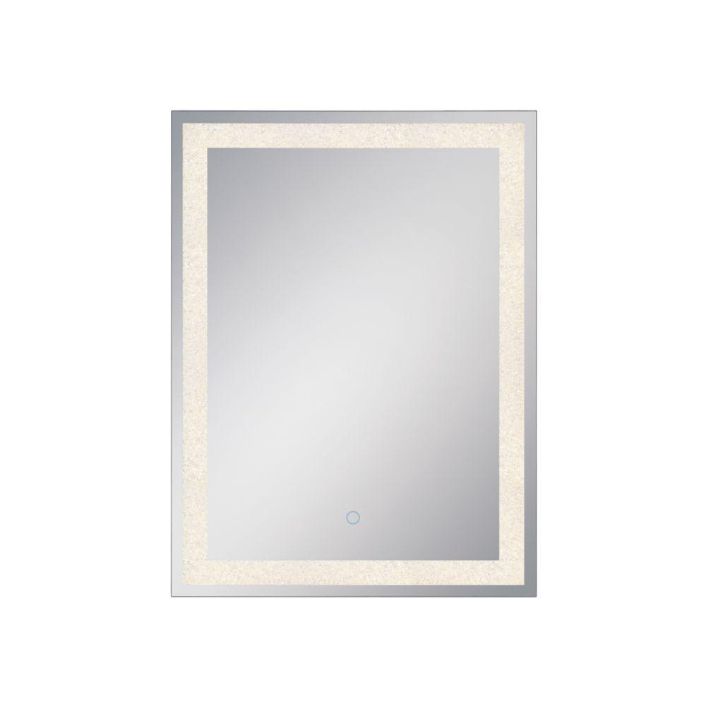 Eurofase Crystal Back Lit LED Rectangular Mirror - 33824-017