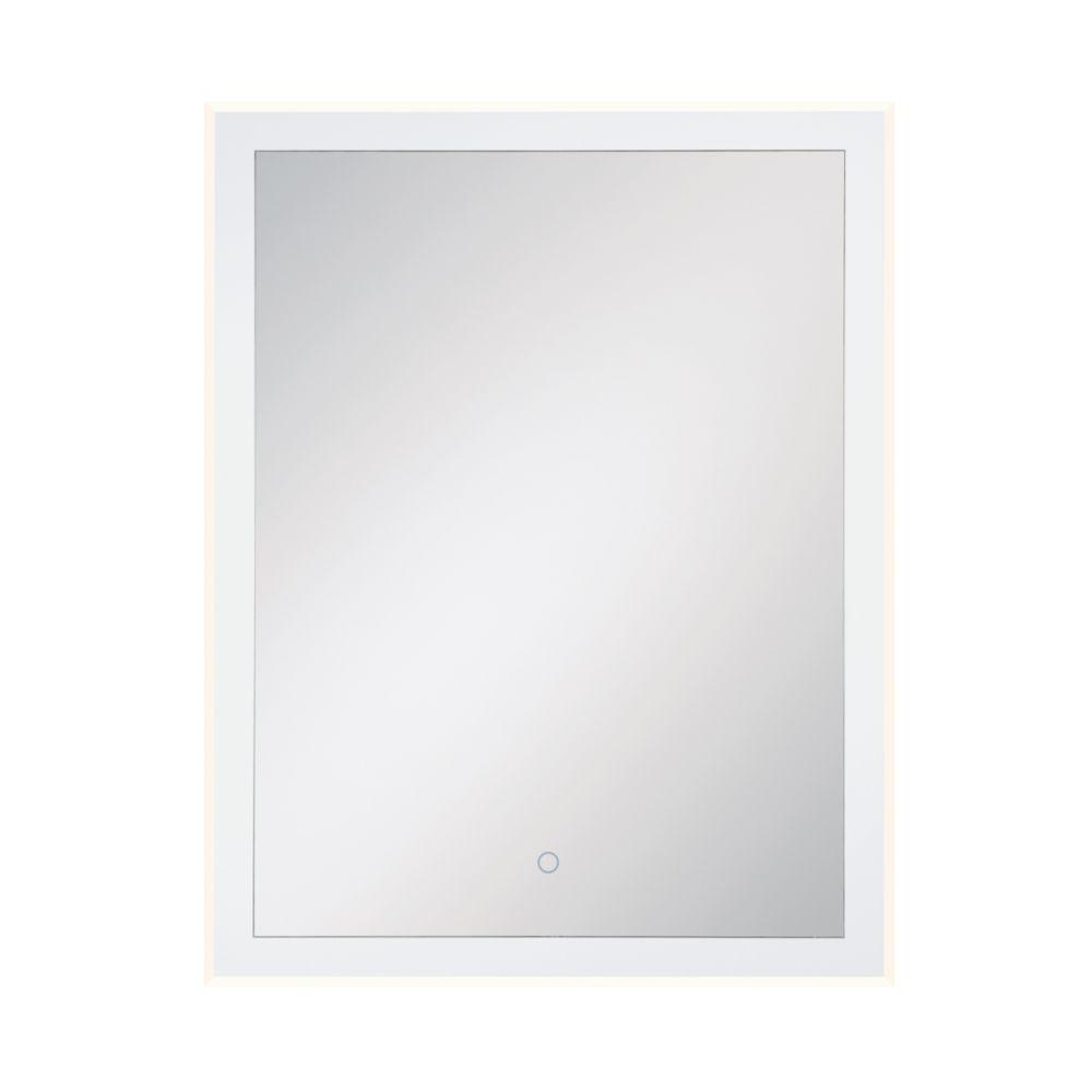 Eurofase Clear Edge Lit LED Large Rectangular Mirror - 33827-018