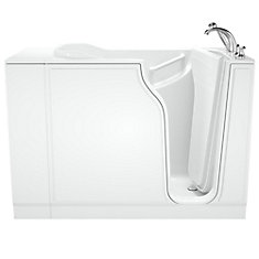 W52 x D30 x H42 Gelcoat Soaking Right-Hand Drain Walk-In Bathtub
